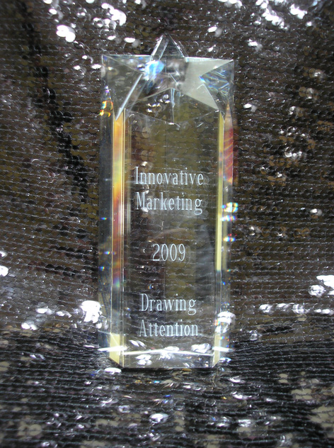 "Star Award for ""Innovative Marketing 2009, Drawing Attention!"""