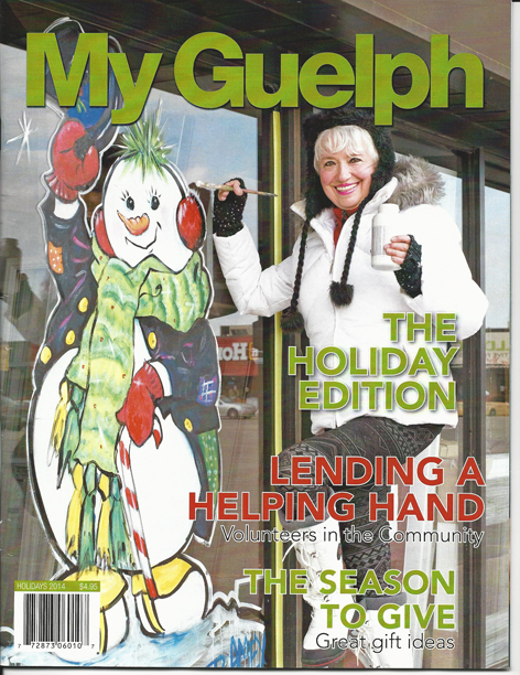 Drawing Attention owner, Dorothy Amey featured in My Guelph magazine.