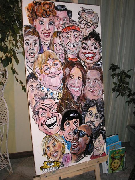 Ceiling tile for dental office.