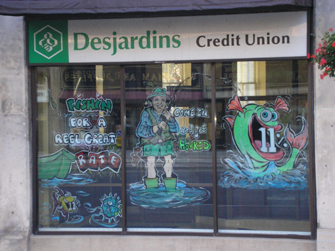 Mortgage rate promotion for Credit Union, Desjardins.