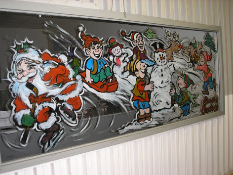 Christmas art for Hammond Manufacturing.