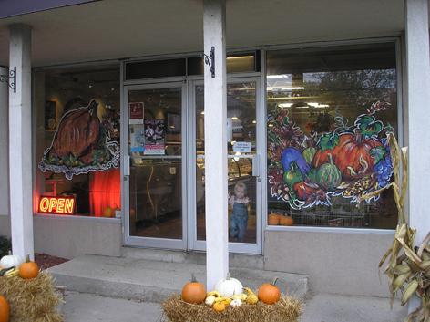 Thanksgiving art work for Paisley Fine Foods.